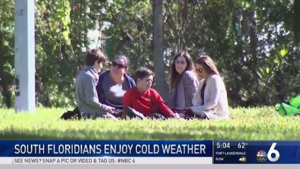 [MI] South Floridians Enjoy the Colder Weather