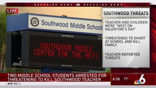 [MI] Southwood Middle Students Accused of Threatening to Kill Teacher