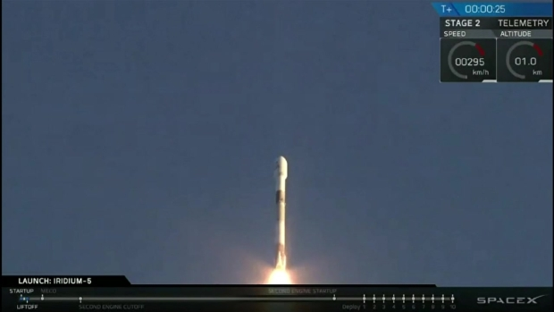 [NATL-LA] Watch: Used SpaceX Rocket Launches From California Coast