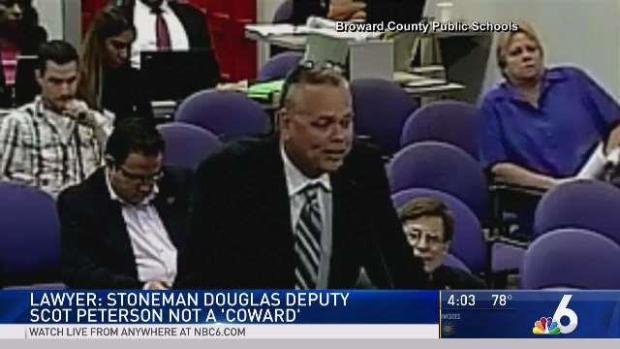 [MI] Stoneman Douglas Deputy Not a 'Coward': Attorney