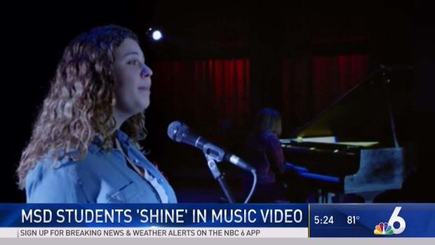 [MI] Stoneman Douglas Students 'Shine' in New Music Video