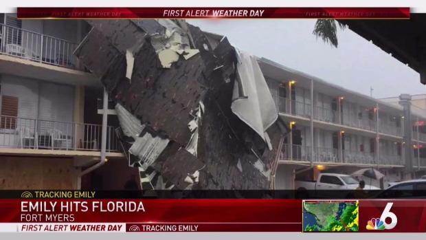 Storm Does Damage Along Florida's Coast