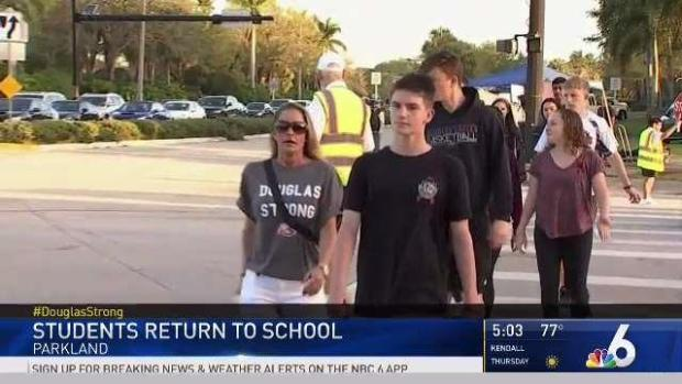 [MI] Students Describe Returning to Stoneman Douglas