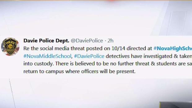 [MI] Suspect Arrested After Alleged Broward School Threats