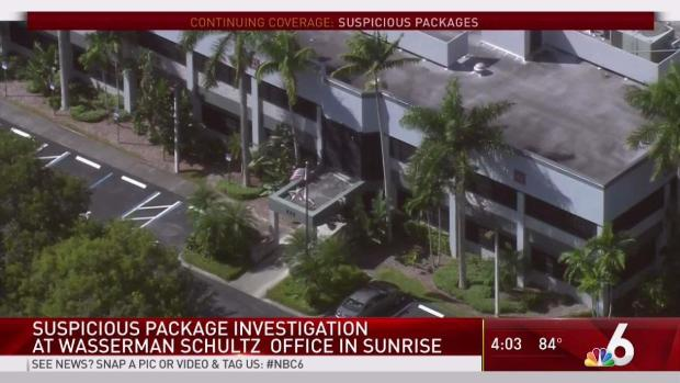 Suspicious Packages Investigated at 2 Wasserman Schultz Offices