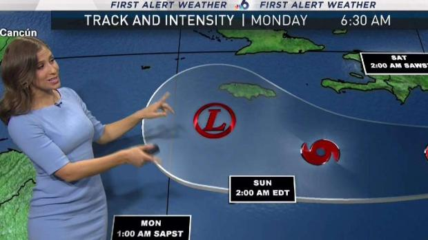 [MI] TS Isaac Continues to Weaken in Caribbean
