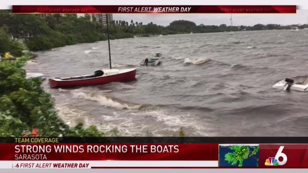 Tampa Area Feeling Affects From TS Emily