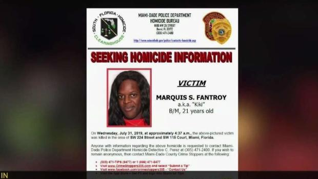 [MI] Teen Arrested in Murder of Miami-Dade Transgender Woman