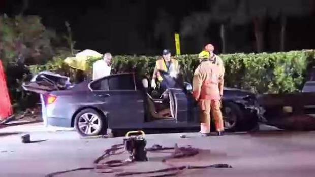 Teen Killed, Another Injured in Crash on Airport Expressway