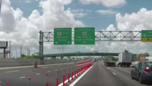 [MI] Toll Lanes Open to Protests on Palmetto Expressway