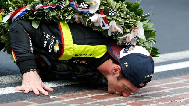 Top Sports Photos: Simon Pagenaud Wins Indy 500