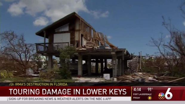 Touring Irma's Damage in the Lower Keys