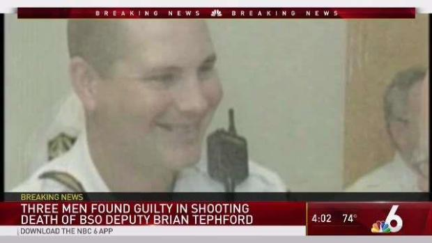 [MI] Trio Convicted in 2006 murder of BSO Deputy