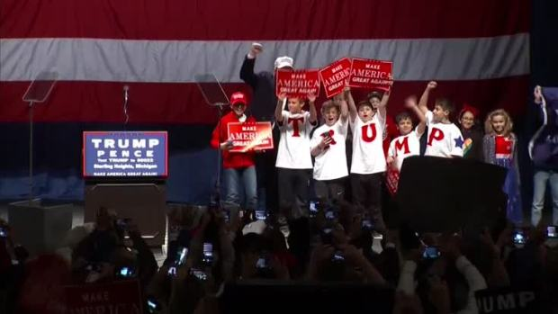 Trump Urges Voters: 'Deliver Justice at the Ballot Box'
