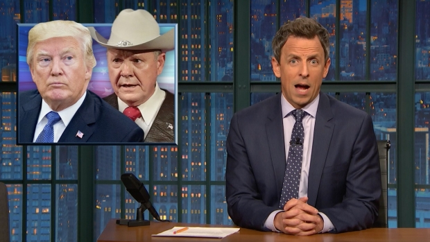 [NATL] 'Late Night': A Closer Look at Trump's Backing of Roy Moore