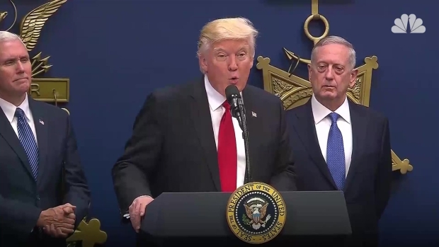 Trump Signs Executive Orders on Armed Forces and Immigration