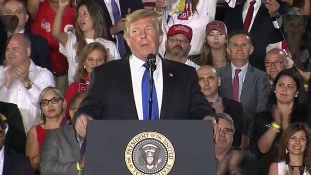 [MI] Trump in Miami Says US Seeks Peaceful Change in Venezuela