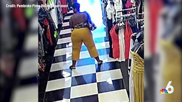 [MI] Twerking Shoplifter Caught on Camera in Pembroke Pines