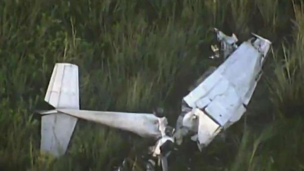 [MI] Two Hospitalized After Small Plane Crash in Everglades
