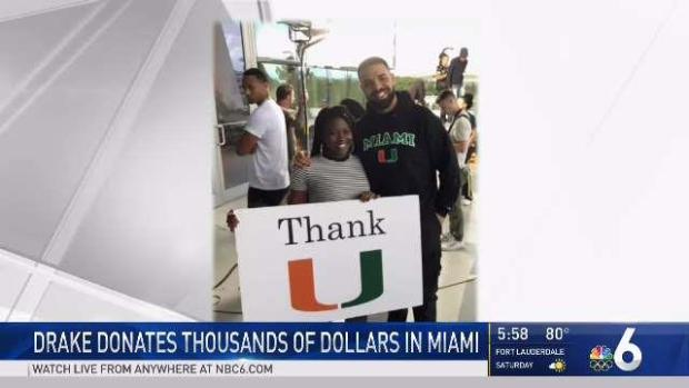 UM Student Who Had Tuition Paid by Drake Speaks