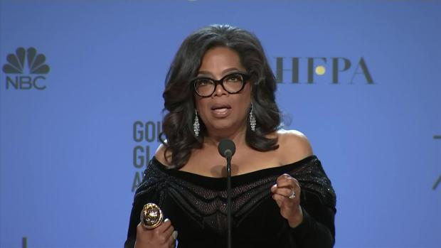 Oprah Winfrey: 'Time's Up' Is for 'Women of the World'