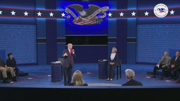 [NATL] Tension, Insults Fly in 2nd Presidential Debate