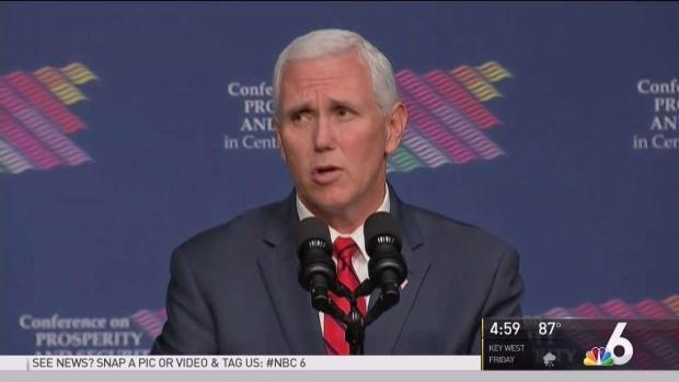 [MI] VP Mike Pence Speaks at FIU