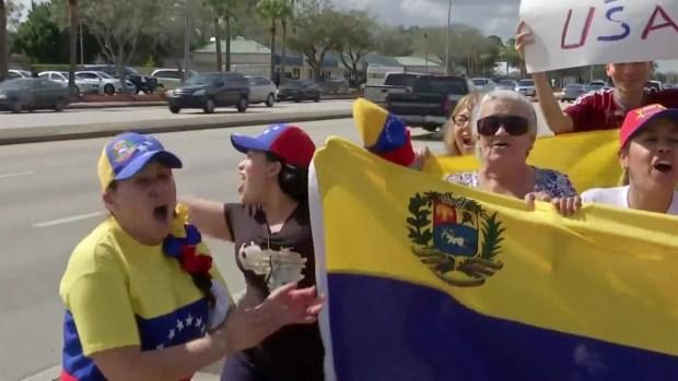 [MI] Venezuelans Rally in South Florida