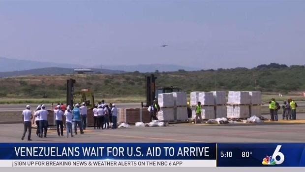 [MI] Venezuelans Wait for US Aid to Arrive