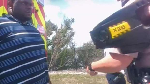 [MI] Video Shows Cop Shooting Man Who Grabbed Taser