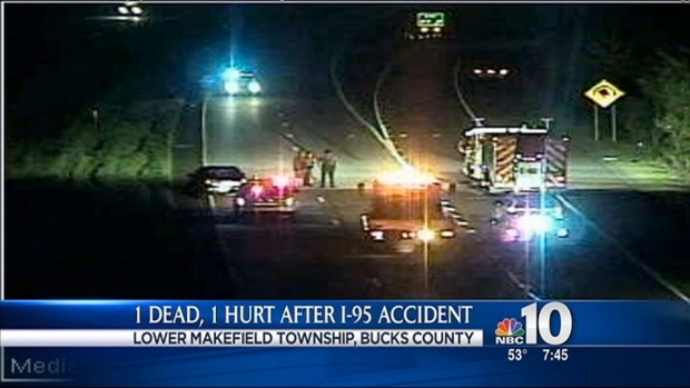 [PHI] 1 Dead, 1 Hurt in I-95 Accident