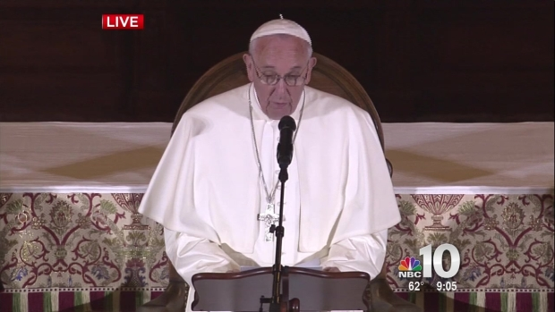 [NATL-PHI] WATCH: Pope Francis Comments on Sex Abuse in Church