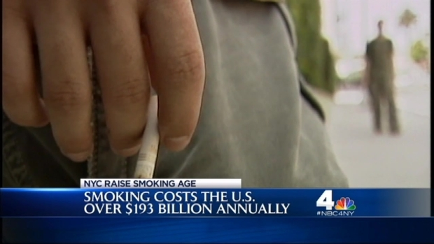 [NY] Raising the Legal Smoking Age to 21