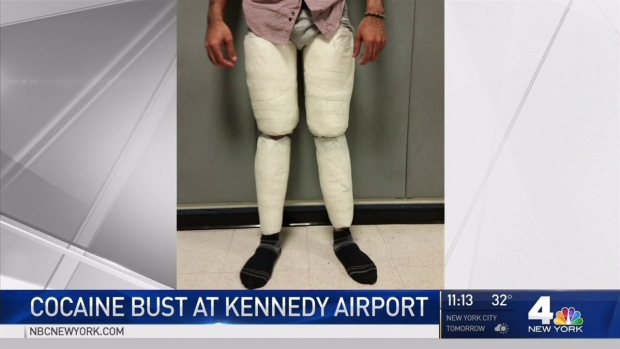 [NATL-NY] 'Snug Pants' Lead to Huge Cocaine Bust at JFK, Officials Say