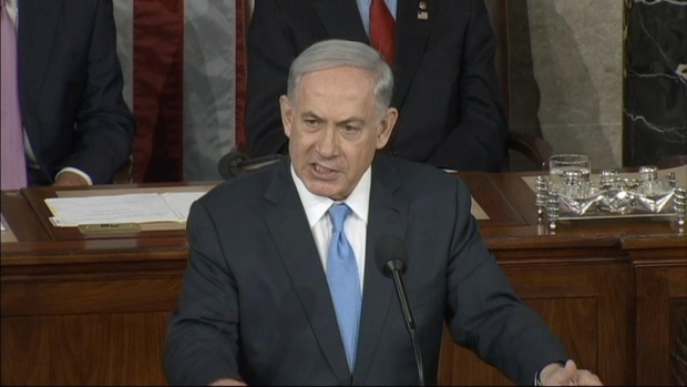 """[NATL-DC] Netanyahu to Congress: Iran, ISIS in a """"Game of Thrones"""""""