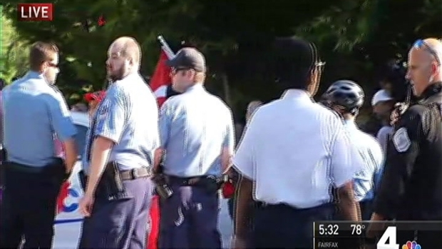 [NATL-DC] People Hurt at Protest Outside Turkish Ambassador's DC Home