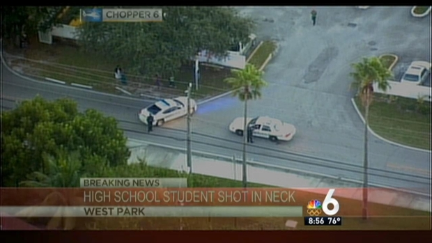 [MI] Student Sent to Hospital After Shooting Near Pembroke Park School
