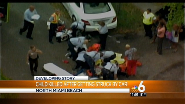 [MI] Girl Dies After She's Struck By Car in NE Miami-Dade, Grandmother Injured