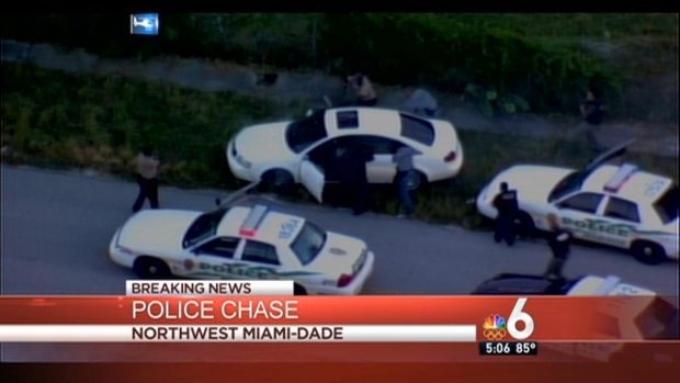 [MI] Police Chase's Dramatic End in Miami
