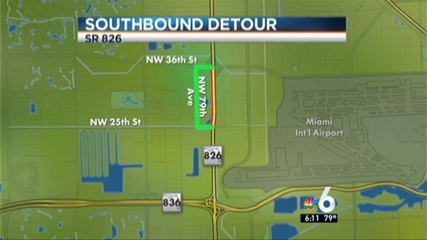 [MI] Nightly Lane Closures on Palmetto Expressway