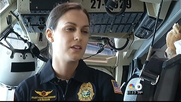 [MI] First Female Fire Rescue Pilot Living Her Dream
