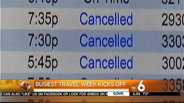 [MI] South Florida Thanksgiving Travelers Could Be Impacted By Bad Weather