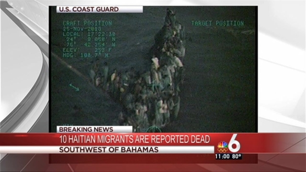 [MI] 10 Haitian Migrants Reported Dead As Boat Capsizes