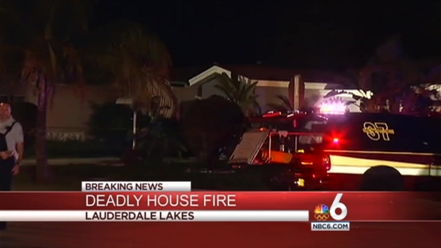 [MI] 1 Person Dead in Lauderdale Lakes Fire: BSO