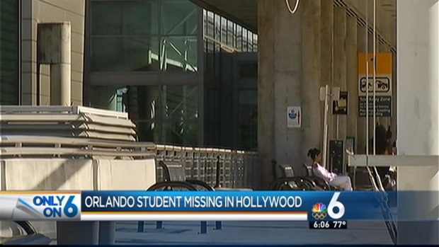 [MI] Orlando College Student Went Missing in Hollywood