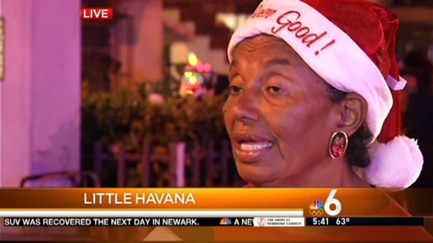 [MI] Thousands of Needy Families Receiving Food for the Holidays in Little Havana