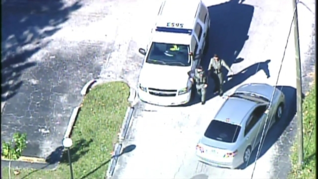 [MI] RAW VIDEO: Authorities in Lauderhill After Shots Fired