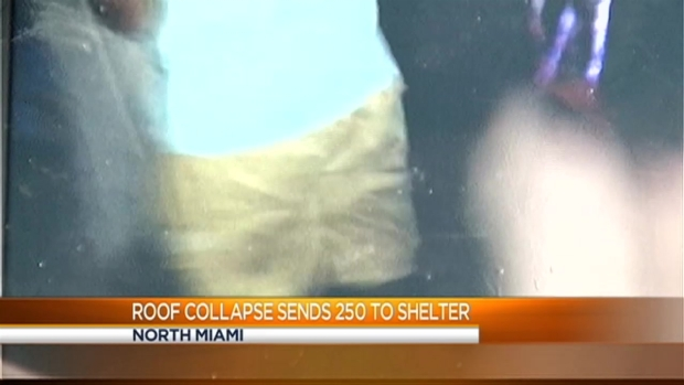 [MI] Residents at Shelter After North Miami Roof Collapse
