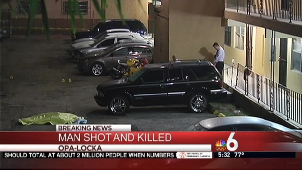 [MI] Man Shot and Killed in Opa-locka