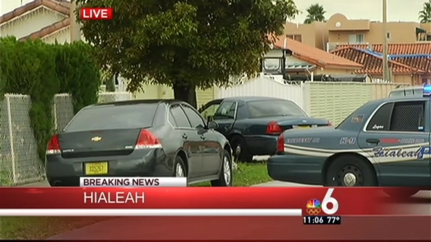 [MI] Hialeah Man Barricades Himself Inside Home